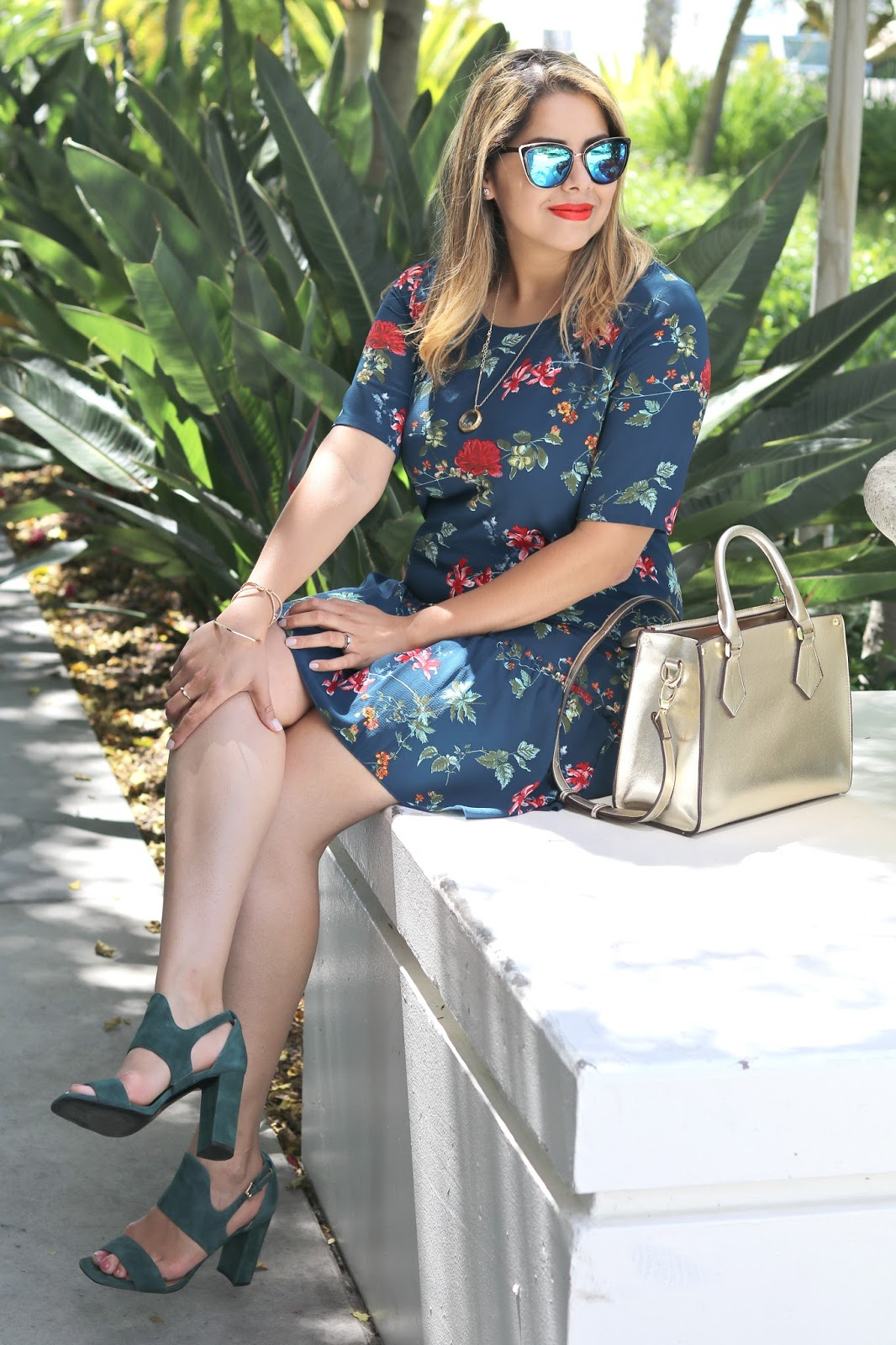 Transitional Florals - from summer to fall 2016, Target style outfit, san diego fashion blogger, what to wear to brunch