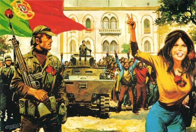 PORTUGAL | Não, não é este 25 de Abril de hoje que comemoramos, este é falso