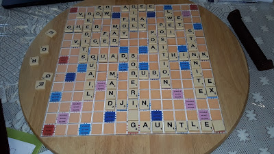 Bangalore Scrabble 2017 game 2