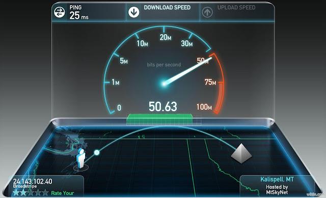 تحميل برنامج قياس سرعة الأنترنيت الخاص بالحاسوب والأندرويد