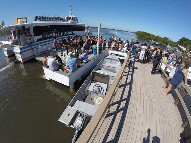 Turismo da Ilha anuncia datas de passeios do Catamarã às ilhas do Lagamar