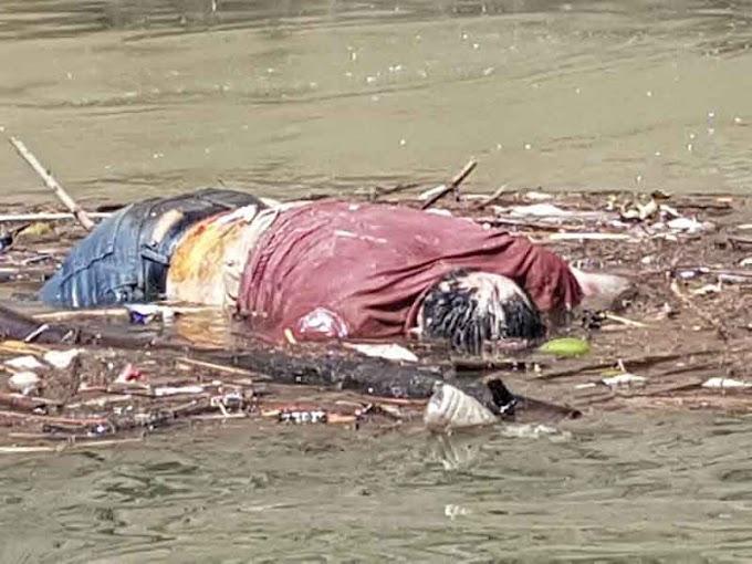 ¡Cuerpo flotaba en el río Grijalva!