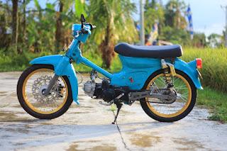 Modifikasi Dan Mengganti Mesin Yang Cocok Untuk Honda C70