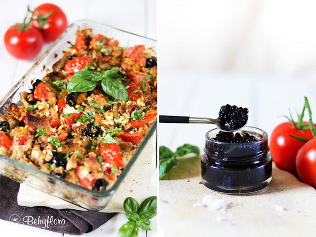 klein, lecker und innovativ sind auch Kaviarperlen, die perfekt zum Panzanella passen