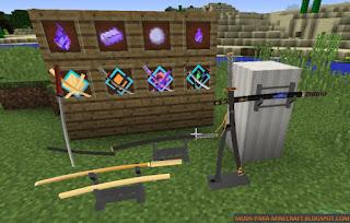 SlashBlade Mod para Minecraft 1.9