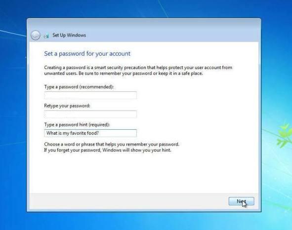 langkah 22: cara instal windows 7, memasukan password