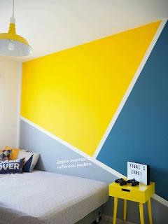 memilih warna cat dinding rumah dan cara mengecat dinding ...