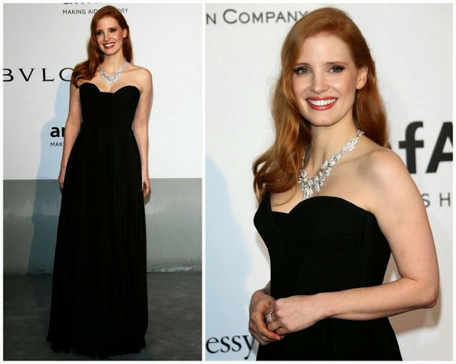 amfAR Cinema Against Aids Gala - Jessica Chastain in Givenchy Couture