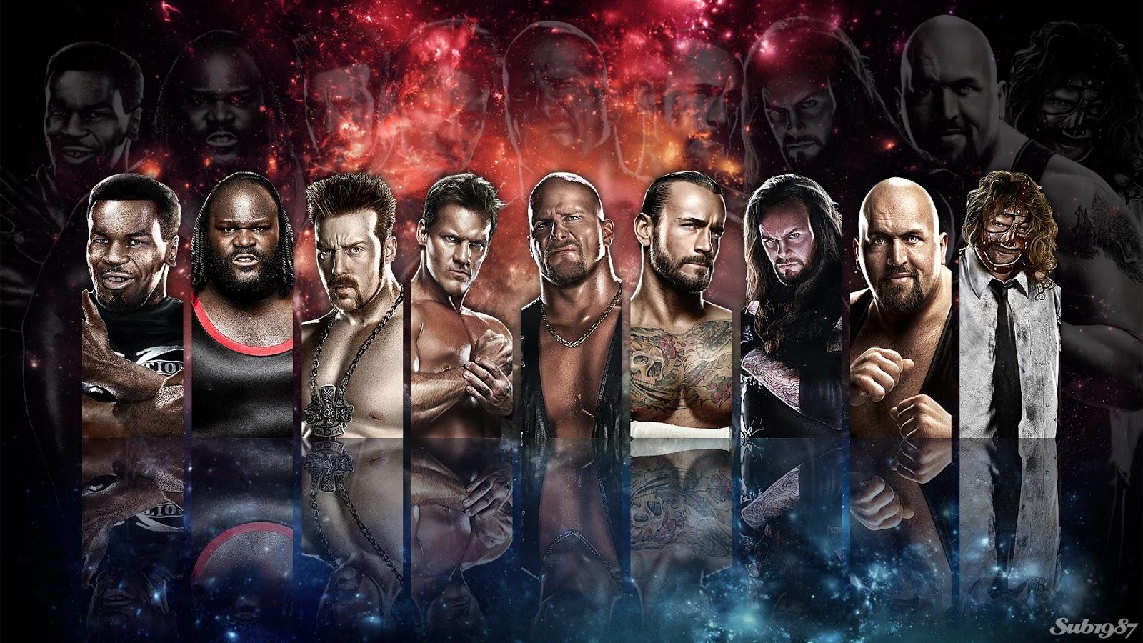 WWE 13 HD Wallpapers