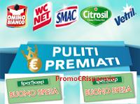 Logo Ipersoap ''Puliti e premiati'': vinci 100 buoni spesa da 20€ e 2 carnet da 250€