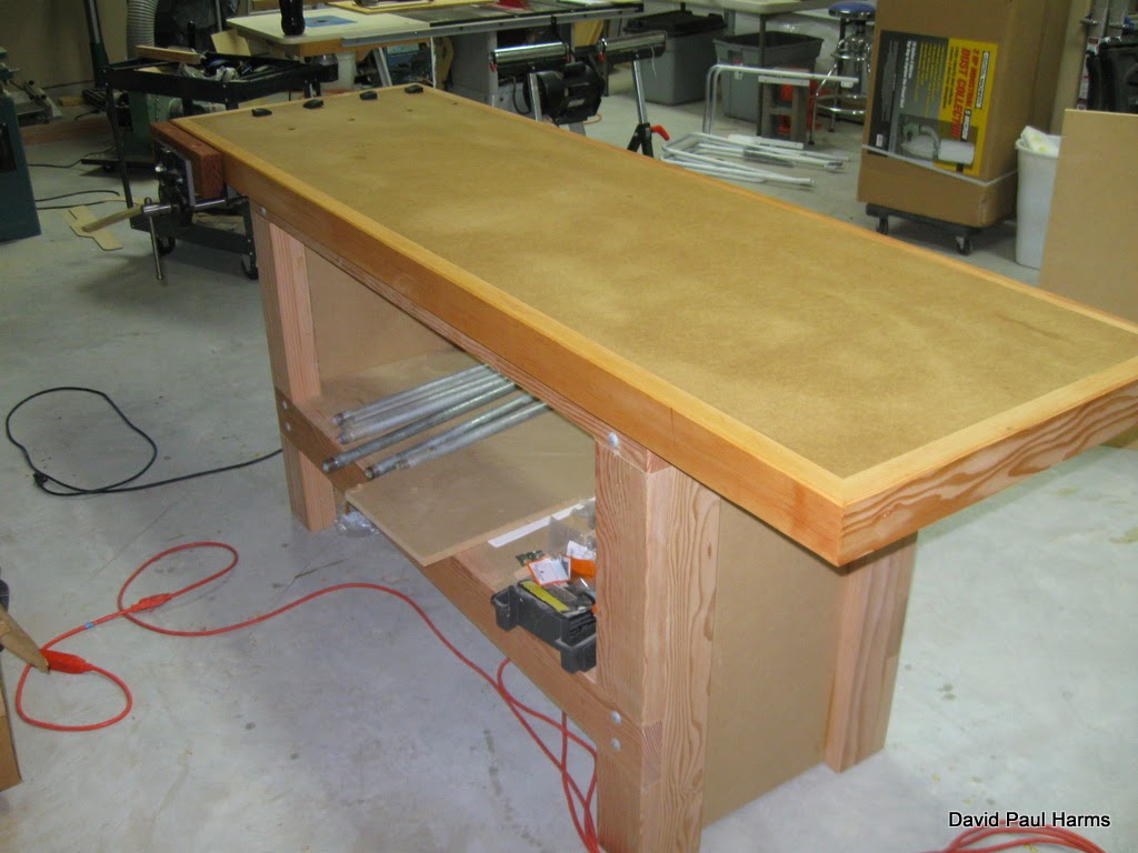 Just Square Enough Woodsmith Workbench Part 2