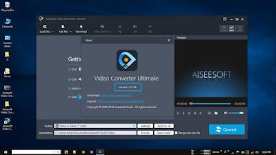 Screenshot Aiseesoft Video Converter Ultimate 9.2.36 Full Version