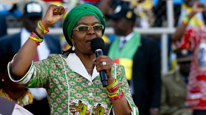 Zimbabwe anti-corruption body investigates Grace Mugabe's PhD