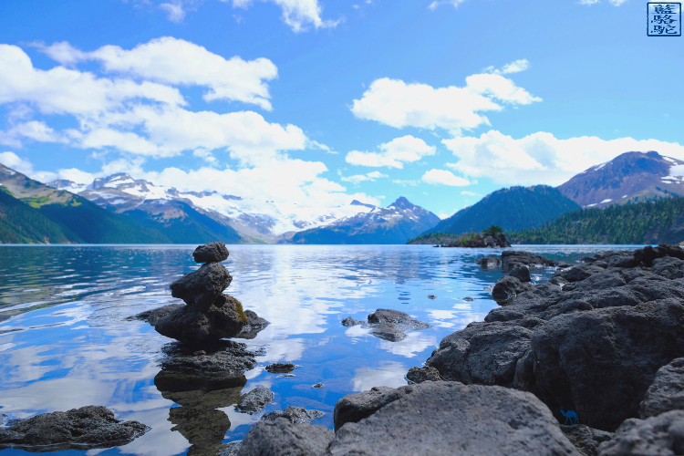 Le Chameau Bleu - Paysage du Garibaldi Lake - Vacance au Canada