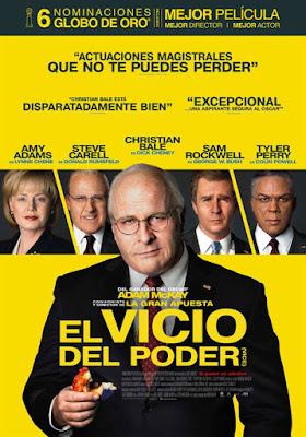 El vicio del poder cartel España