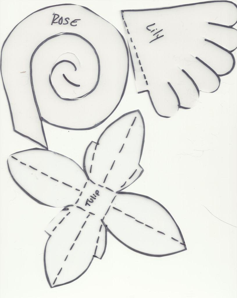 Papercraft Flowers Ikutinajah