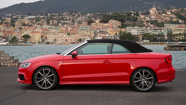 Audi A3 Cabriolet side