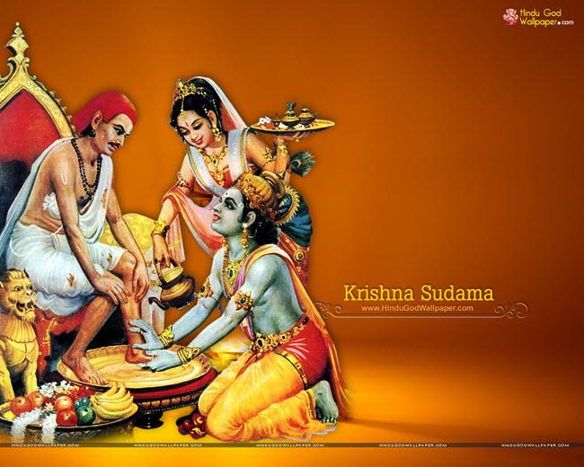 Krishna Sudama Picture
