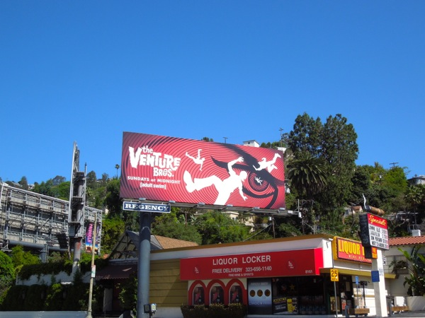 Venture Bros season V billboard