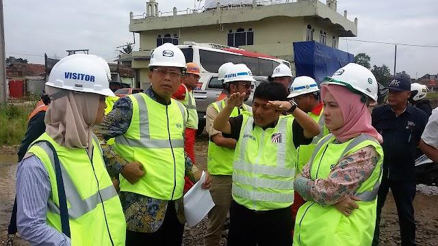 Komisi IV DPRD Jabar Sidak Pembangunan  Tol Soroja