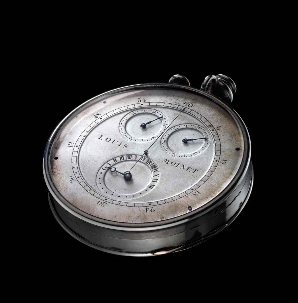 Louis Louis Moinet debajo del reloj8