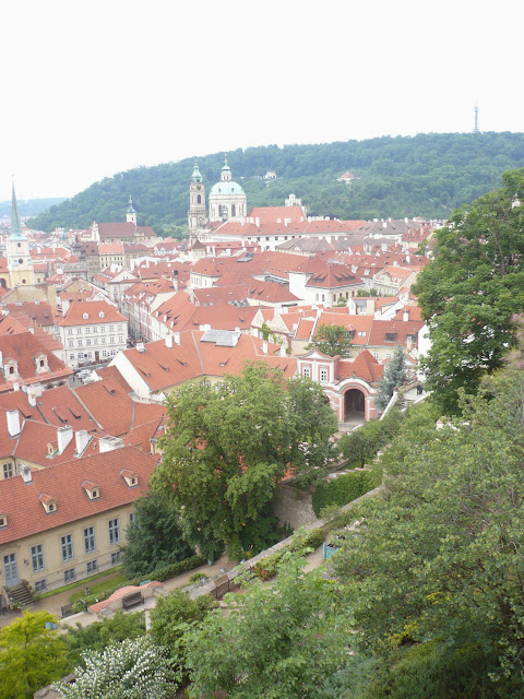 Giardini dei palazzi sotto il Castello