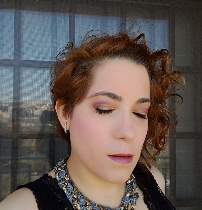 MAKE UP | Orange Eyes & Eyeliner dorado en el párpado
