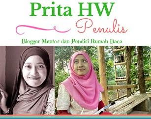 Prita HW Seorang Penulis Blogger Mentor dan Pendiri Rumah Baca