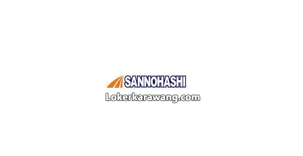 Lowongan Kerja Operator PT. Sannohashi Manufacturing Indonesia KIIC Karawang