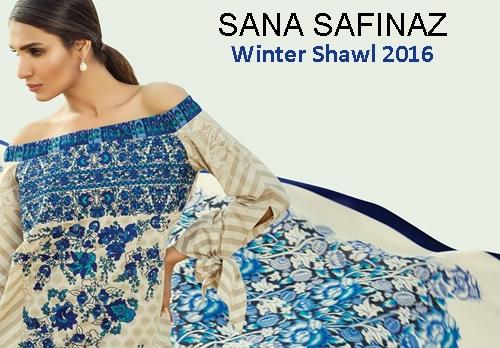 e57ad4e550 Sana Safinaz Winter Collection 2016-2017 Complete Catalog | She-Styles |  Pakistani Designer Dresses - Fashion Weeks - Lawn Collection