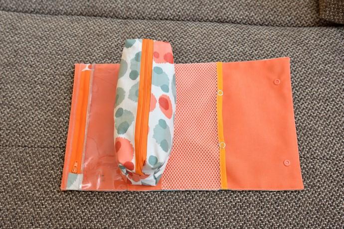 geöffnete RollUp Tasche von oben, ohne Inhalt