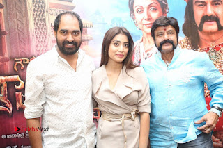Shriya Saran Nandamuri Balakrishna at Gautamiputra Satakarni Team Press Meet Stills  0215.JPG