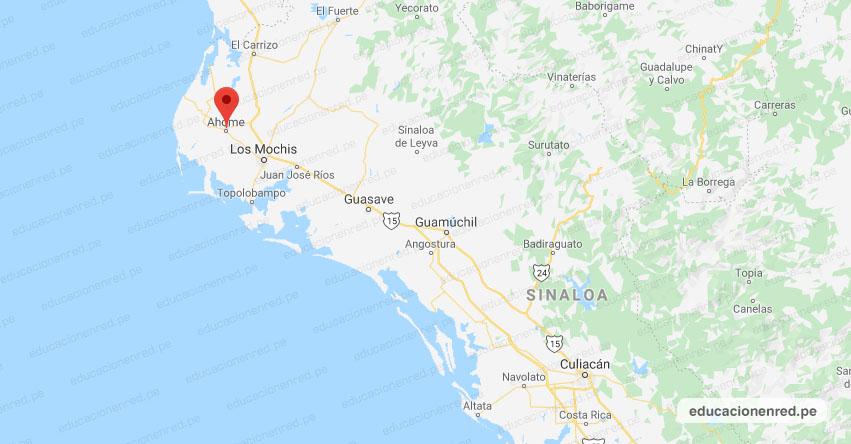 Temblor en México de Magnitud 4.5 (Hoy Jueves 15 Agosto 2019) Sismo - Epicentro - Ahome - Sinaloa - SIN. - SSN - www.ssn.unam.mx