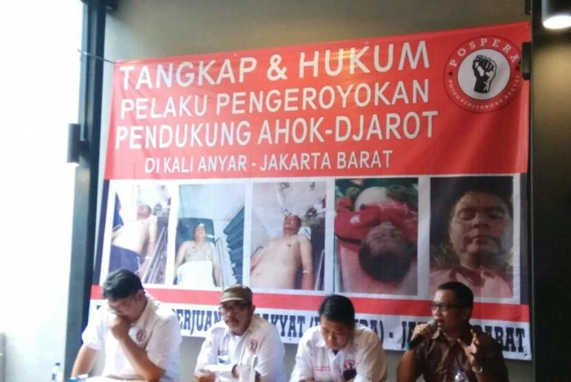 Pendukung Ahok Yang Mabuk & Dikeroyok di Tambora Bernama...