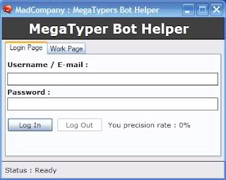 Megatypers Auto Bot Software