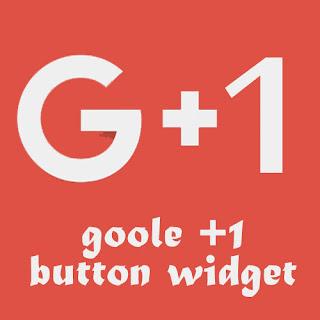 Mambuat Widget Google +1 di Blog