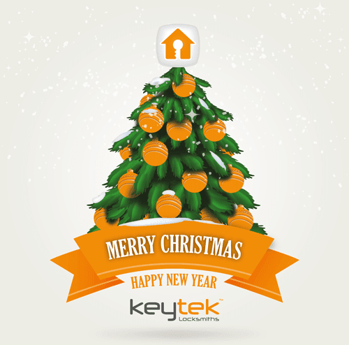 Happy Christmas and New Year from Keytek Locksmiths