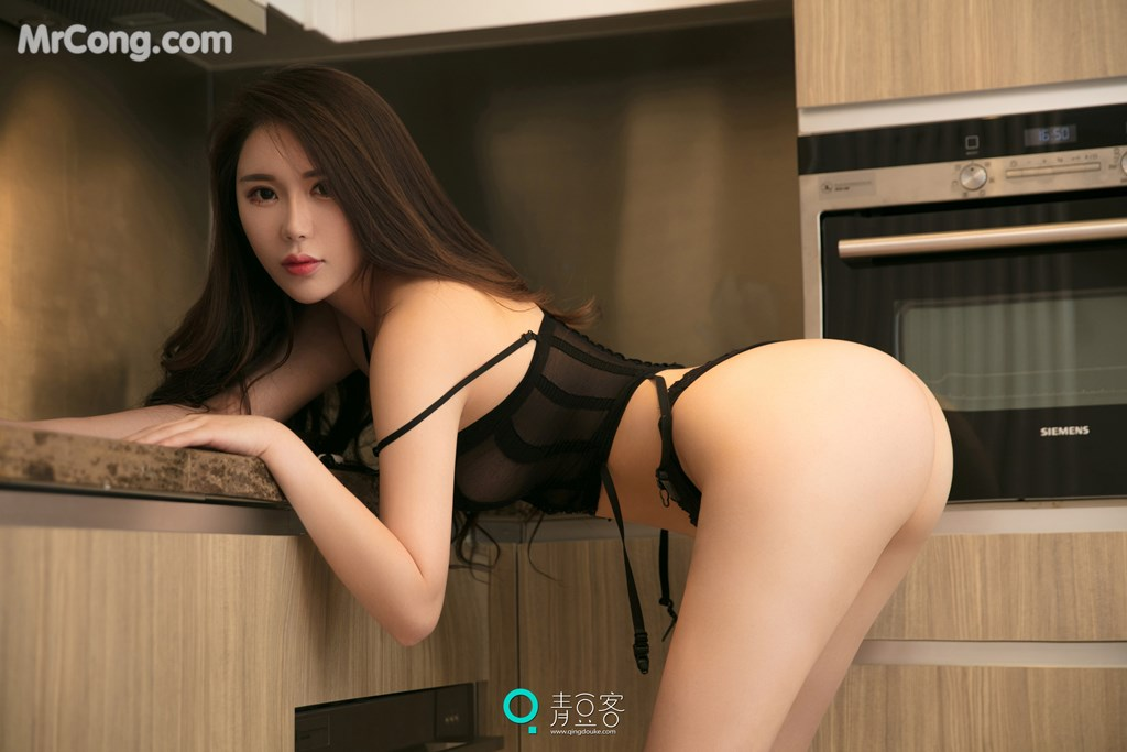 Image QingDouKe-2017-10-14-Rou-Dan-MrCong.com-004 in post QingDouKe 2017-10-14: Người mẫu Rou Dan (肉蛋) (54 ảnh)