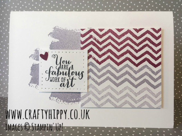 Work of Art stamp set, Stampin' Up!