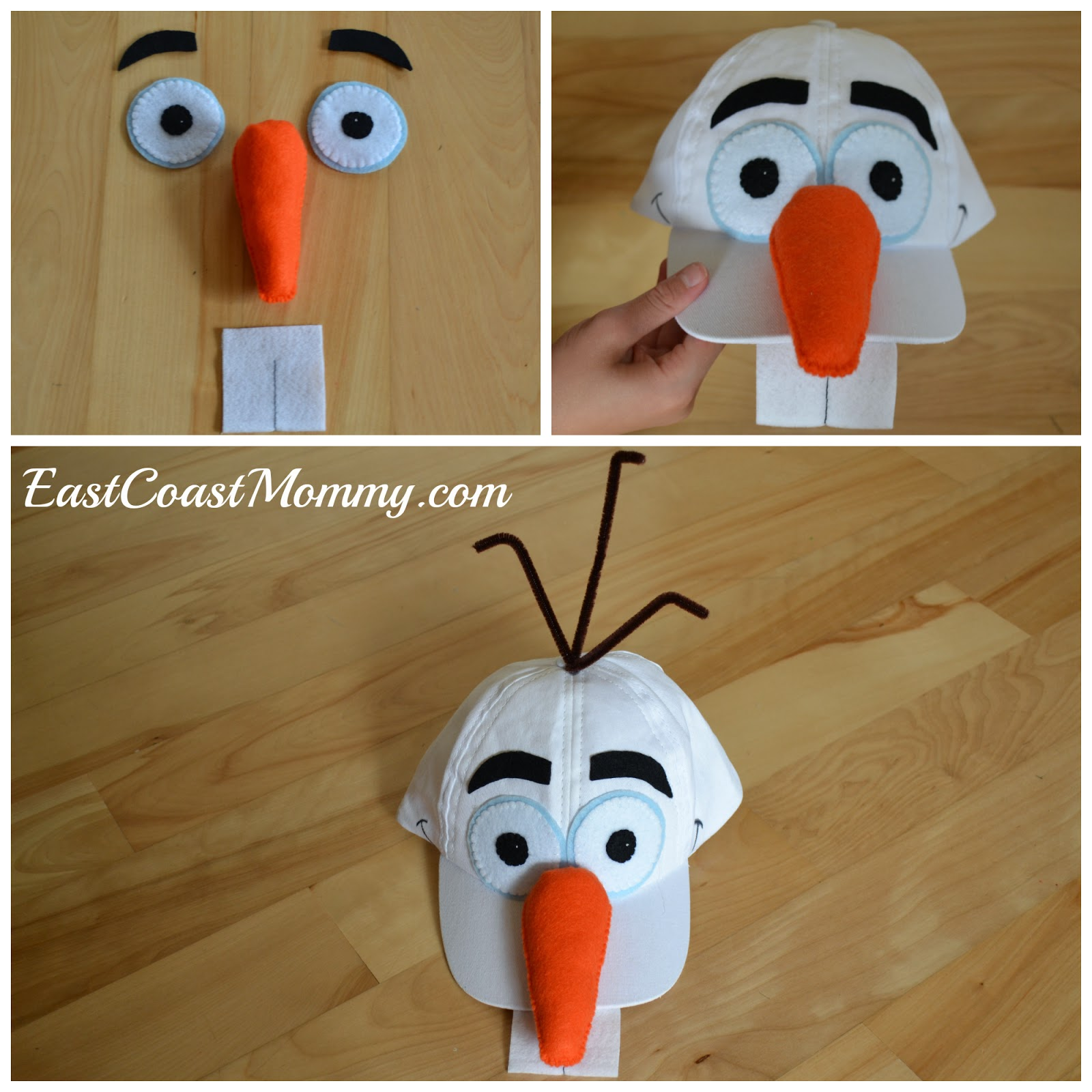 East coast mommy diy olaf costume i made this diy olaf costume for less than 10 and i think it is totally adorable dont you solutioingenieria Image collections