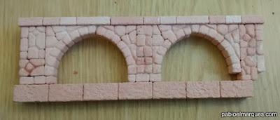 WIP Muro con arcos