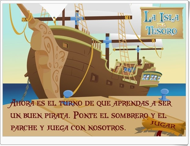 """""""La isla del tesoro"""" (Juego de Educación para la Paz de Primaria)"""