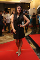 Actress Shraddha Srinath Stills in Black Short Dress at SIIMA Short Film Awards 2017 .COM 0036.JPG