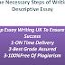 Some Necessary Steps of Writing a Descriptive Essay