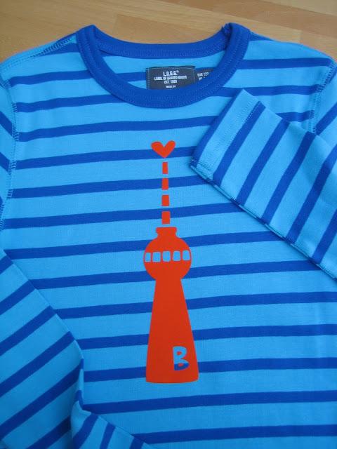 DIY: T-Shirt mit Berliner Alex pimpen
