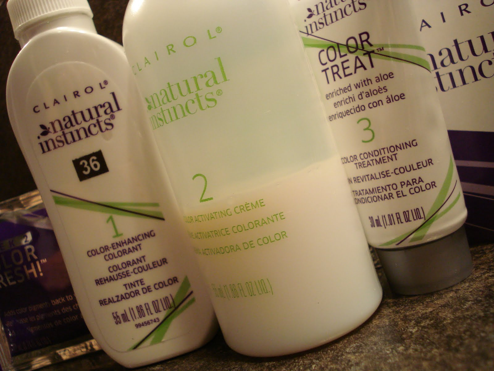 clairol natural instincts color treat conditioner
