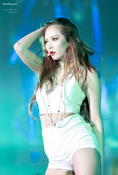 PHOTO Hyuna na 2016 SBS Gayo Daejun - HYUNA POLAND