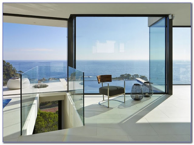 Floor To Ceiling GLASS WINDOWS Cost for modern home