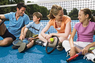 How involved should you be in your child's tennis game?