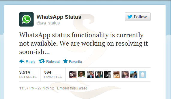WHATS APP WARNS USERS FROM HOAX MESSAGES !!!! (2/2)